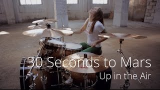 30 Seconds to Mars - Up in the Air (drum cover by Vicky Fates)