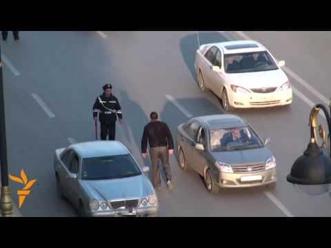 The Corrupt Traffic Cops of Azerbaijan - Unbelievable!