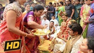 Balakrishna Daughter Tejaswini Marriage | Tejaswini Weds Sribharat Wedding Video - 23