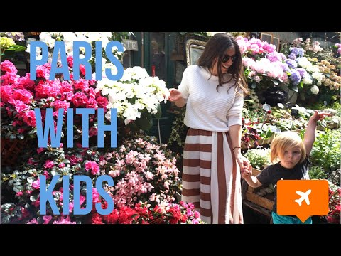 PARIS WITH KIDS | THINGS TO DO IN PARIS WITH CHILDREN | TRAVEL WITH KIDS