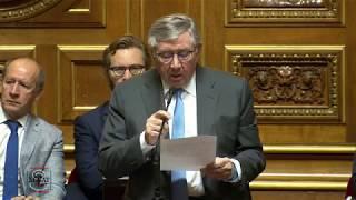 Alain FOUCHE : Question à M. CASTANER, sur la situation dans les banlieues