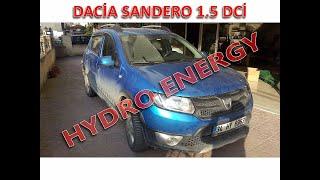 Dacia sandero 1.5 dizel hidrojen yakıt tasarruf sistem montajı