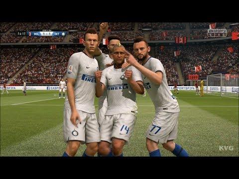 FIFA 19 - AC Milan vs Inter Milan - Gameplay (HD) [1080p60FPS]