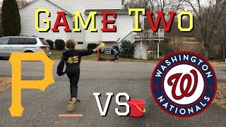 Game Two GVBL Winter 2018-19: Pirates vs Nationals