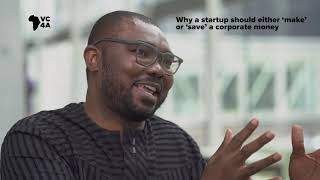 Why a startup should either 'make' or save' a corporate money
