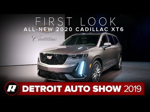 All-new 2020 Cadillac XT6 gets uncovered ahead of the 2019 Detroit Auto Show