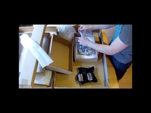 Harley Benton Guitar Kit Teil 1 - Unpacking