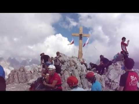 Vzpon na Monte Paterno 21.7.2013