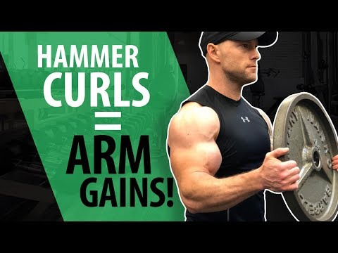TOP 5 Hammer Curls - Arm Gains!