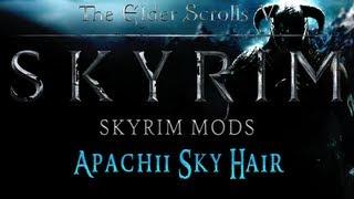 Skyrim Mods - Apachii Sky Hair