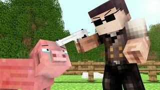 Pig Life 2   Craftronix Minecraft Animation