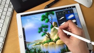 Apple iPad pro mit Apple Pencil im Test / Review