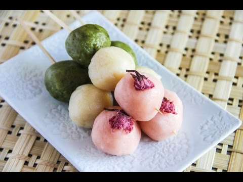 Hanami Dango Recipe – Japanese Cooking 101