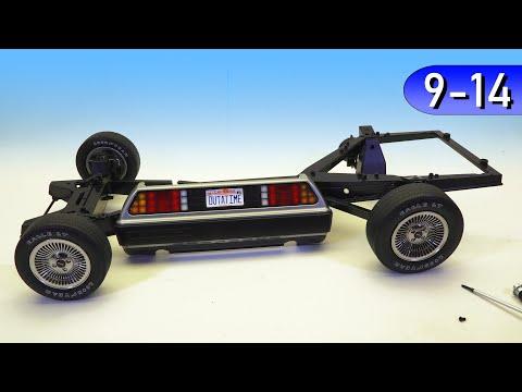 Назад в Будущее, ДеЛориан 1:8 своими руками: Рама, подвеска и колёса (DeLorean Eaglemoss) #3