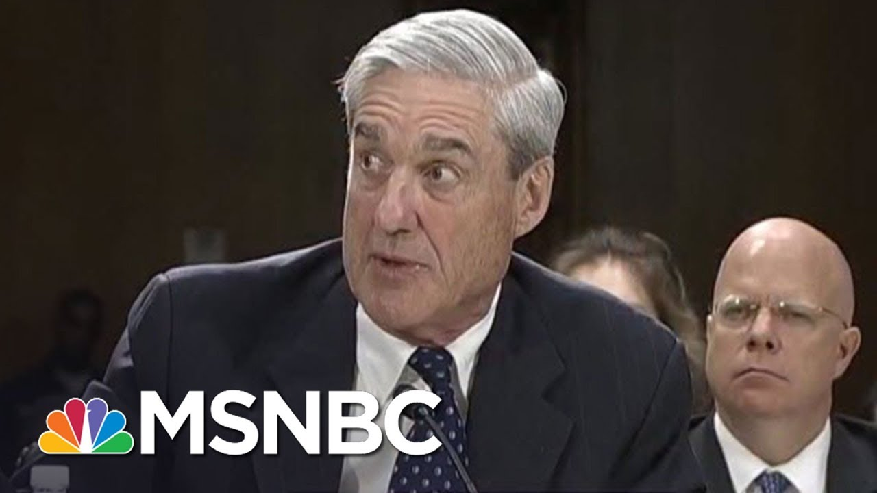 Fmr. Mueller Colleague: Robert Mueller Will Follow The Facts | The 11th Hour | MSNBC thumbnail