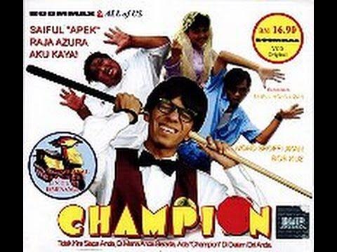 💿 VCD Telemovie - CHAMPION (Snooker)