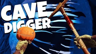 DIGGING For the HAUNTED ENDING! - Cave Digger VR Gameplay - HTC Vive VR