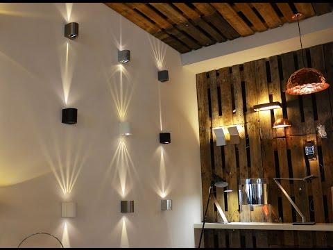 LICHT-TREND Baleno LED-Wandleuchte mit Lichtfilter / Aussen & Innen