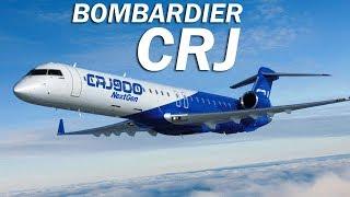 Bombardier CRJ - приключения канадской сигары. История и описание региональных лайнеров