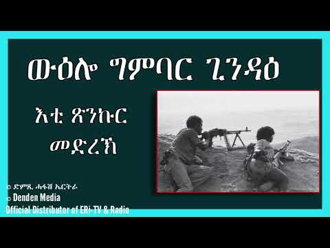 DimTsi Hafash Eritrea/ድምጺ ሓፋሽ ኤርትራ:ውዕሎ ግምባር ጊንዳዕ - እቲ ጽንኩር መድረኽ