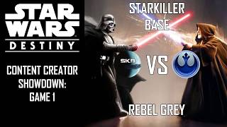 Starkiller Base vs Rebel Grey