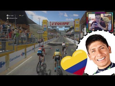 NAIRO QUINTANA | Le TOUR de FRANCE 2018 PS4/XONE | COLOMBIA SE LUCE | En español