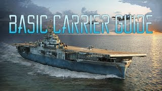 Entry to Carriers - USS Langley - (World of Warships