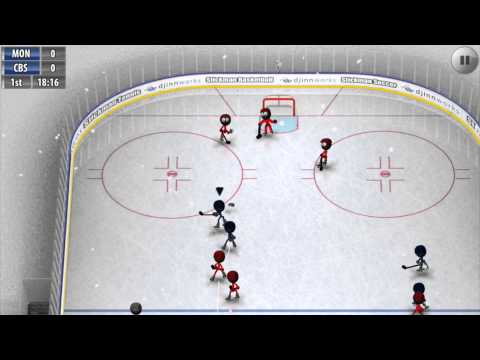 Видео Stickman Ice Hockey