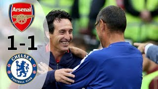 Arsenal vs Chelsea 1-1 (6-5) All Goals & Extended Highlights 2018