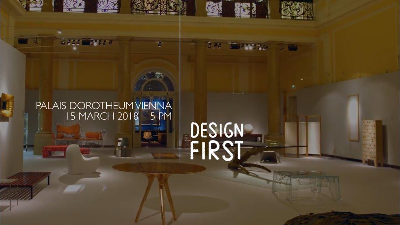 Design First | 15. März 2018 | Palais Dorotheum