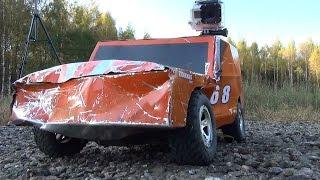 ДЕРБИ, часть 3 ... Жесткий бой на радиоуправляемых моделях (RC car derby)