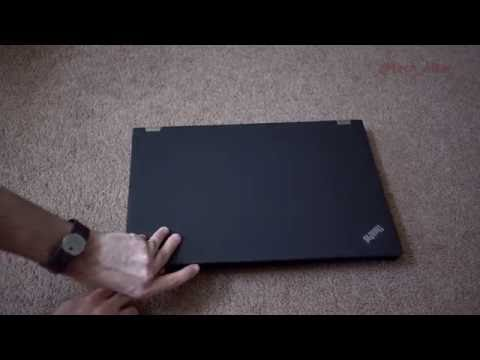 Lenovo ThinkPad P70 Unboxing