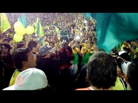 """""""LA BANDA DE VARELA  Defensa y Justicia 0  Sao Paulo 0   5-4-17  Estadio Lanus  Copa Sudamericana"""" Barra: La Banda de Varela • Club: Defensa y Justicia"""