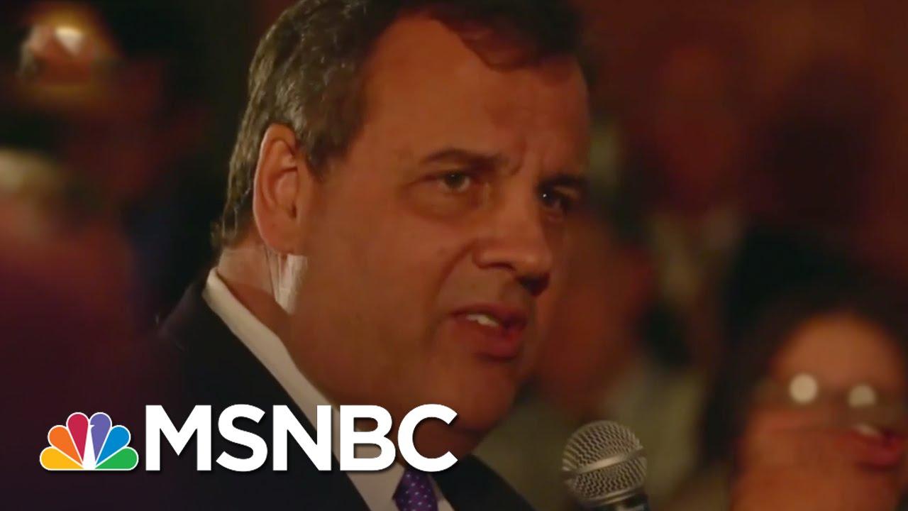 Chris Christie's 'Powerful' Speech About Addiction Resonates Online | MSNBC thumbnail