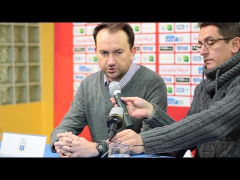 Konferencja prasowa po meczu Stomil Olsztyn - Bytovia Bytów