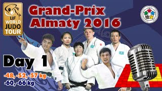 Judo Grand-Prix Almaty 2016: Day 1