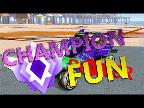 Rocket League - Champion Fun :D