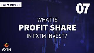ما هي حصة الربح في برنامج FXTM Invest؟