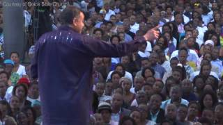 Pastor Dag Heward-Mills from Ghana tells congregants that male and male is