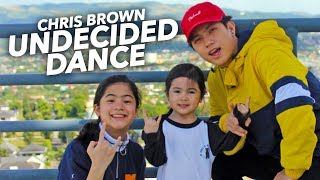 UNDECIDED   Chris Brown Siblings Dance | Ranz And Niana
