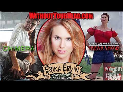 Erika Ervin Amazon Eve American Horror Story Freak Show Interview Without Your Head Horror Podcast