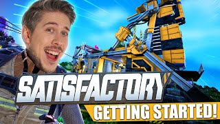 This Game Is SATISFACTORY! - Getting Started! #1