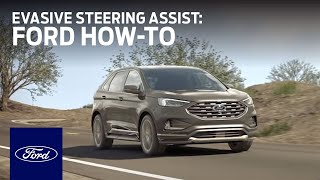 Evasive Steering Assist & Pre-Collision Assist With Automatic Emergency Braking | Ford How-To | Ford