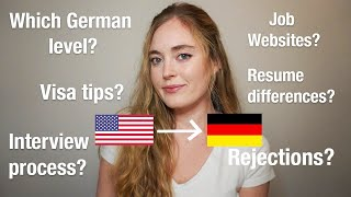 How I Got a Job in Germany! Speaking German? Interview Cultural Differences?