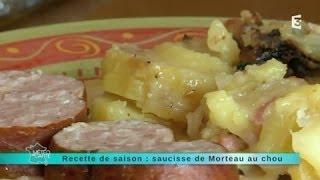 Recette de saison : saucisse de Morteau au chou