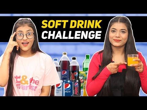 Soft Drink Challenge Ft  Samreen Ali   Mahjabeen Ali