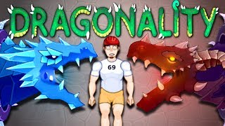 ULTIMATE DRAGONALITY - Happy Room (NEW Dungeon Update)