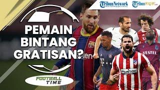 FOOTBALL TIME: Jajaran Pemain Bintang Berstatus Bebas Transfer, Ada Messi hingga Chiellini