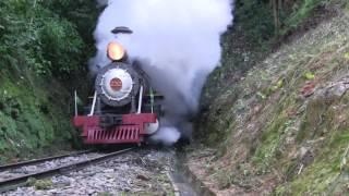 Maria Fumaça 232 em Apiúna - SC -  (steam locomotive) - Brasil