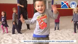 Video ze sportovního projektu Nadace Pražské děti